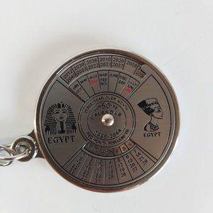 *3/$20* Ancient Egypt 50 year calendar keychain